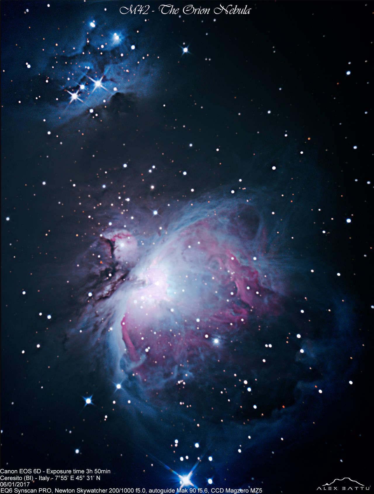 M42 orion nebula; nebulosa di orione; astronomia; astrofotografia; astronomy; astrophotography