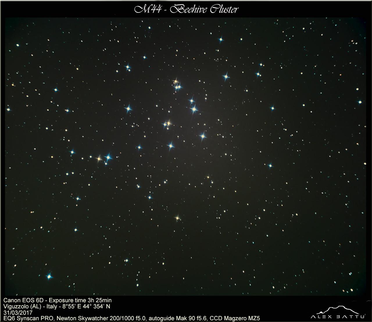 M44 beehive cluster; ammasso presepe; ; astronomia; astrofotografia; astronomy; astrophotography