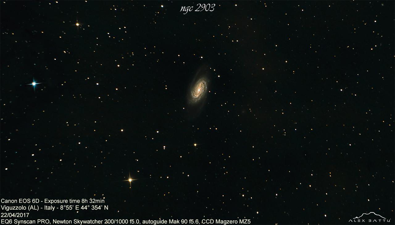 ngc2903; astronomia; astrofotografia; astronomy; astrophotography