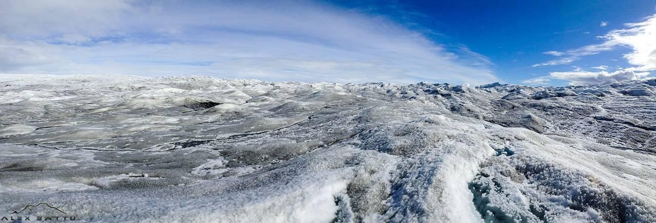 Greenland; ice cap