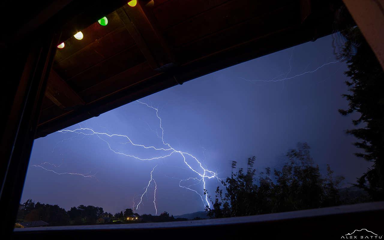 Thunderstorm in Ceresito
